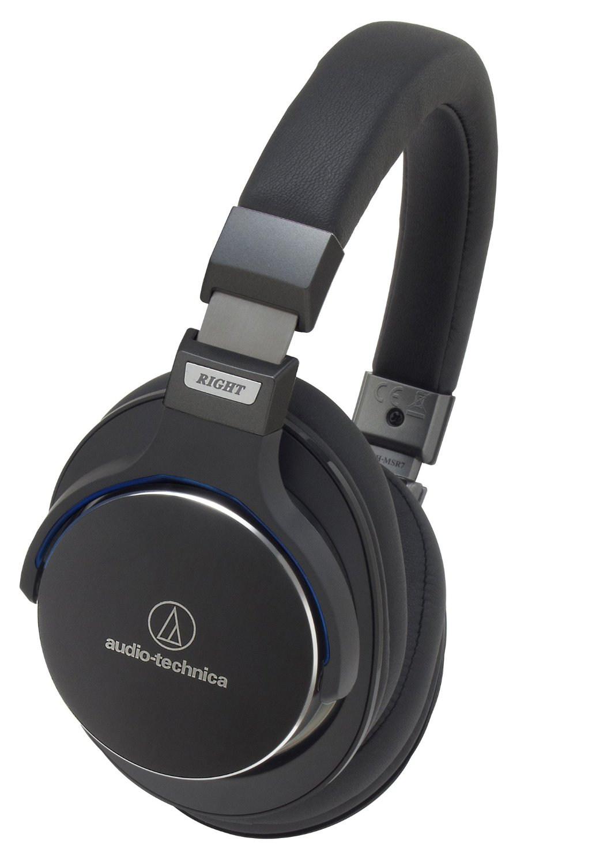 Audio Technica Ath Msr7 Portable Sonic Headphones With Mic Black M40x Monitoring Headphone