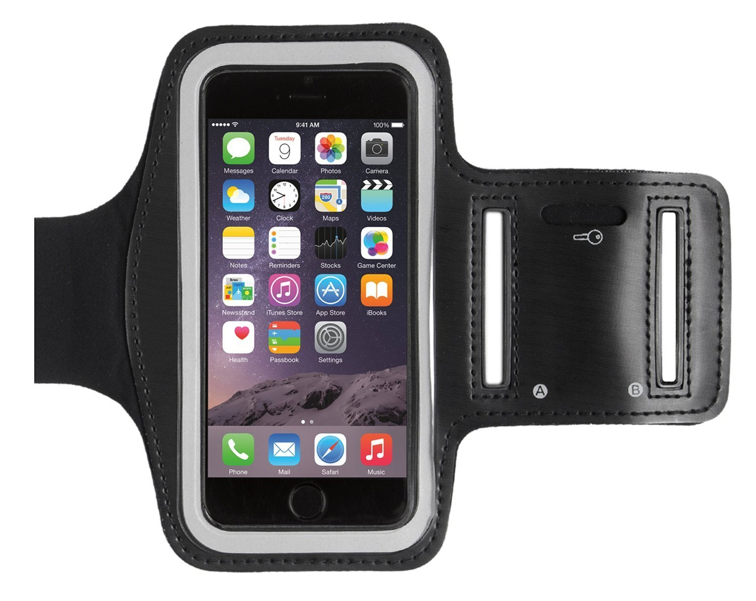 e6fdea55ca Caseit Athlete Fitness Sport Armband Case for Apple iPhone 6 4.7
