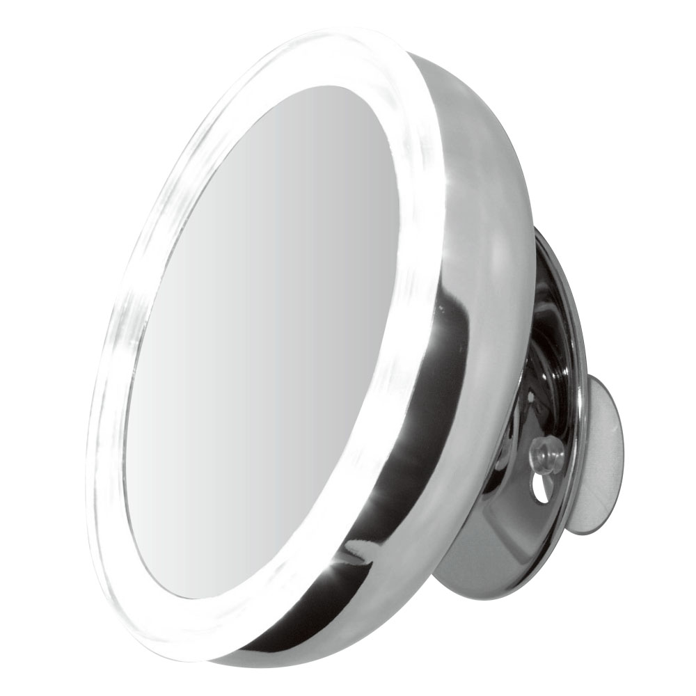 Clearview 5 Led Illuminated Makeup Vanity Mirror Suction