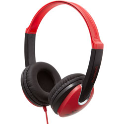 discountdiscs.co.uk | Groov-e Kidz Headphones | Red GV-590-RB
